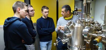 « 1 classe / 1 chercheur » : immersion à l'IUT et au laboratoire FEMTO-ST
