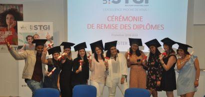 cérémonie de diplôme Master 2LCE