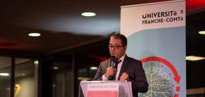 Jacques Bahi, Président de l'Université de Franche-Comté, présente ses voeux