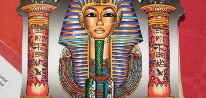 Dessin d'un pharaon