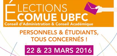 Bannière élections UBFC