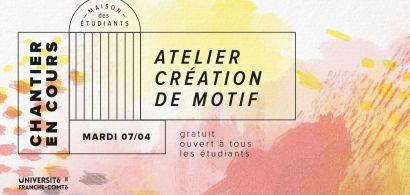 Atelier création de motif