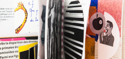 """Extrait de l'exposition """"Le livre d'artiste pour la jeunesse"""""""