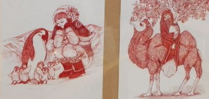Photo d'une œuvre présentée dans l'exposition
