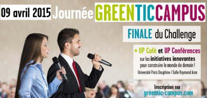 Campus Car en finale du GreenTic Campus Challenge le 9 avril