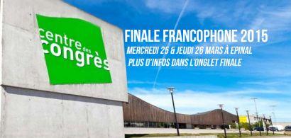Finale francophone des Négociales 2015