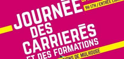L'iUT de Belfort-Montbéliard sera présent  la Journée des carrières et des formations à Mulhouse le 21 janvier