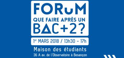 """Edition 2018 - """"Que faire après un bac+2?"""""""