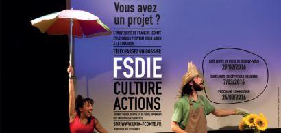 Visuel FSDIE Culture Actions mars 2016