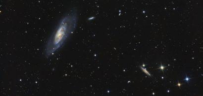 Galaxie M106 | © Aurélien Lepanot