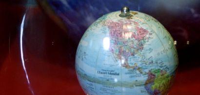Photo d'un globe