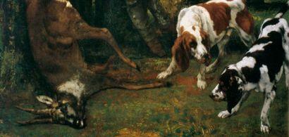 La Curée, de Gustave Courbet