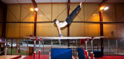 Entraînement de gymnastique à l'U-Sport