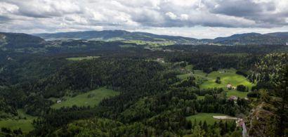 Paysage dans le haut Jura