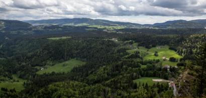 Paysage dans le Haut-Jura