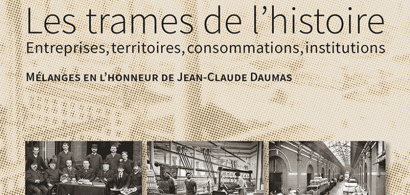 Couverture des mélanges en l'honneur de Jean Claude Daumas
