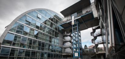 Vue extérieure du bâtiment du CLA