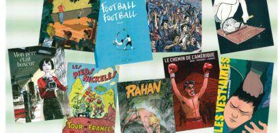 Quand les héroïnes et héros de papier sont l'occasion d'interpeller, voire même de critiquer, les normes sportives