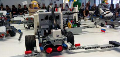 Challenge robotique des lycéens à l'IUT de Belfort-Montbéliard