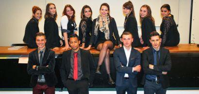 Les treize candidats du centre de qualification du Pays de Montbéliard qui participeront à la Finale Francophone des 25 et 26 mars 2015.