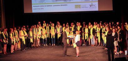Remise de diplômes de l'ESPE au grand Kursaal