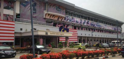 La devanture de l'institut Sukan negara