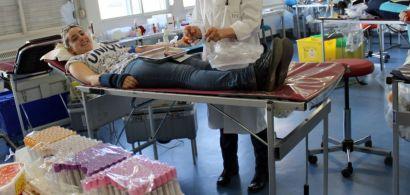 Don du sang au département Carrières Sociales