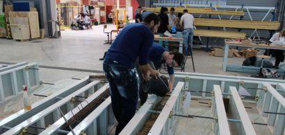 Journée en béton pour le département Génie Civil - Construction Durable de l'IUT de Belfort-Montbéliard