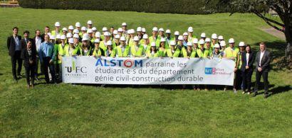 Alstom soutient l'IUT: le parrainage, une tradition qui a de l'avenir