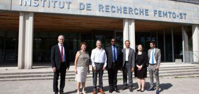 Visite de Madame l'Ambassadrice de France au Kenya, à l'Université de Franche-Comté