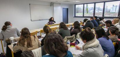 Une salle de classe du pôle universitaire de Vesoul