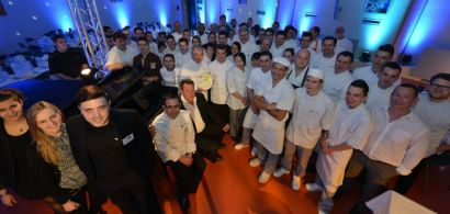 L'équipe organisatrice de l'édition précédente de la Journée des Jeun's Chefs