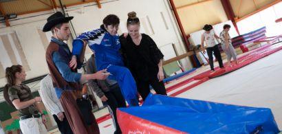 gymnastique adaptée aux personnes handicapées mentales
