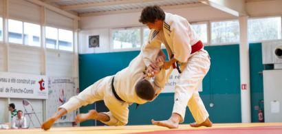 Photo d'une compétition de judo