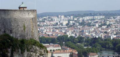 Vue de la Besançon depuis la citadelle