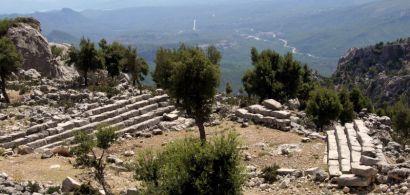 Site de Kapikaya en Turquie