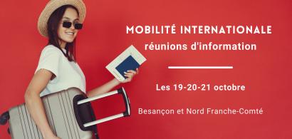 Réunion d'information sur la mobilité internationale