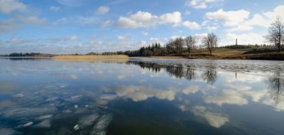 Lac en Lettonie