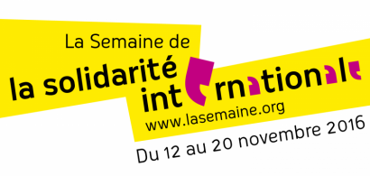 Logo de la Semaine de la solidarité internationale