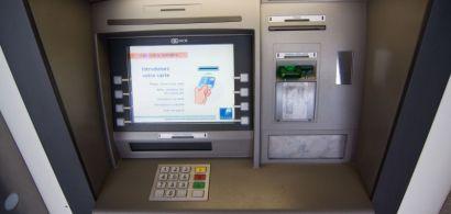 Un distributeur bancaire.