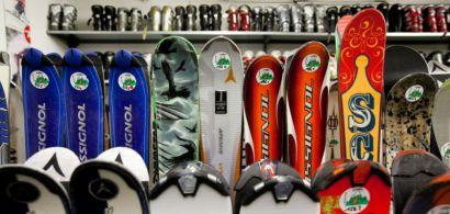 Skis et chaussures de ski