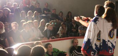 Photo d'un match de la LUDI FC