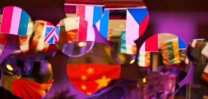 Drapeaux de différents pays