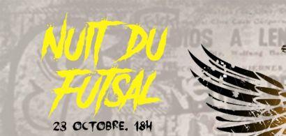 Affiche Nuit du Futsal Campus Sports