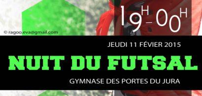 Nuit du futsal de la MéMO (Maison des étudiants de Montbéliard)