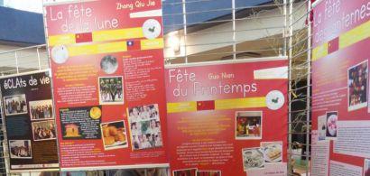 enfants et étudiants exposition CLA