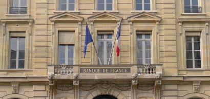 Façade de la banque de France.
