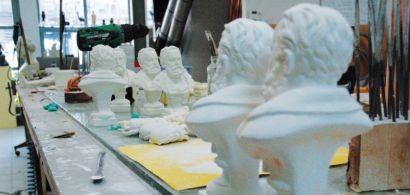 Atelier de moulage du musée des Beaux-Arts et d'Archéologie de Besançon