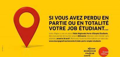 Aide régionale perte emploi étudiant