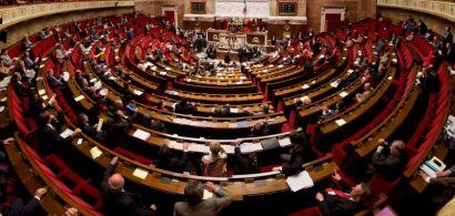 Panorama de l'hémicyle de l'assemblée nationale